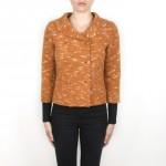 DG 01-10 Jacket boiled wool orange colour