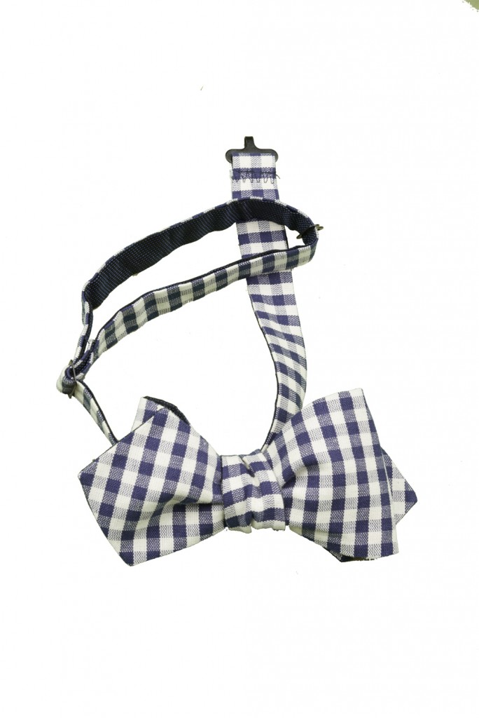 Bow Tie double-sided with Pocket Square and menswear vest