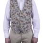 Men's vest handmade, made to measure