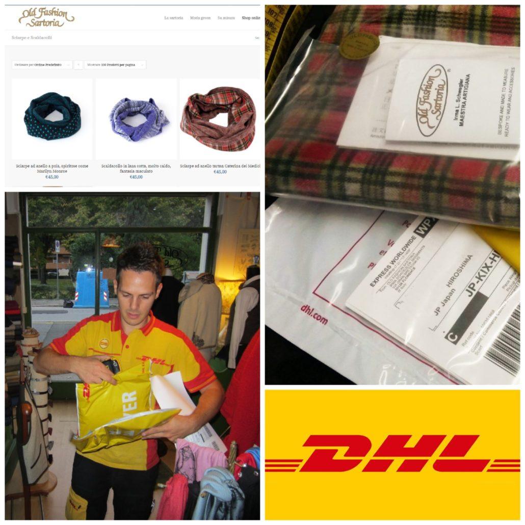 Spedizione pacchi express super veloce con DHL!