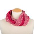 Old Fashion Sartoria, scaldacollo double face in lana cotta, rosso, bianco, artigianale, ASC 01-09_fragola_1
