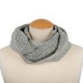 , Scaldacollo grigio argento in lana cotta, artigianale, ASC 01-09_muschio_1
