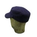 Old Fashion Sartoria, Firenze, Cappello in Tessuto Casentino, blu, per uomo e donna, sartoriale, artigianale, handmade, AC 03-02