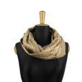 ASC 01-15 sciarpe ad anello cashmere seta cammello infinity scarf