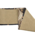 ASC 01-16 Scaldacollo cashmere seta animalier coprispalle scaldacuore sciarpe double face circle scarf