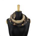 ASC 01-16 Scaldacollo cashmere seta pois loop coprispalle scaldacuore circe scarf dots
