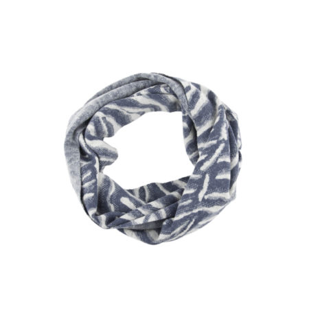 ASC 01-19 Scaldacolli lana cotta cotone animalier avorio avion celeste blu circle scarf boiled wool cotton