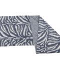 ASC 01-19 Scaldacolli lana cotta cotone animalier avorio avion celeste blu sciarpa ad anello circle scarf cotton