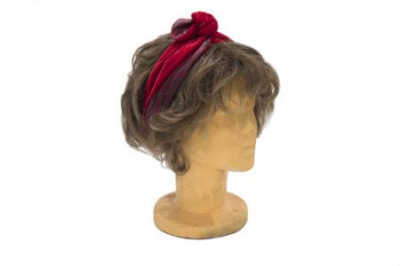 Fascia per capelli, Headband, Nodo, Twist, velluto AC 13-02