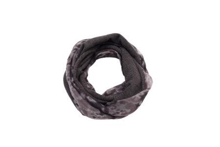 Scaldacollo, double face, sciarpa anello, stola, ASC 01-23