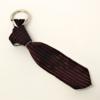 Portachiavi a cravatta bordò